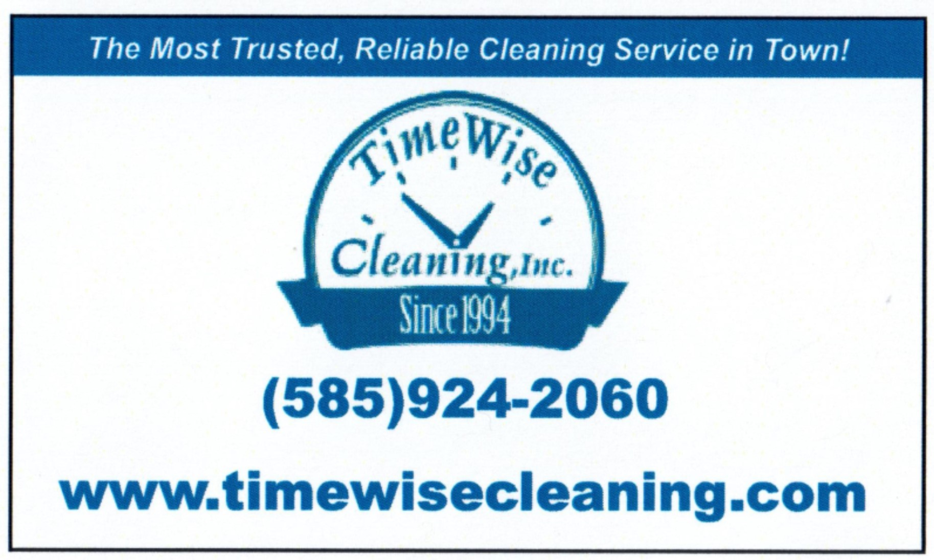 TimeWise Cleaning
