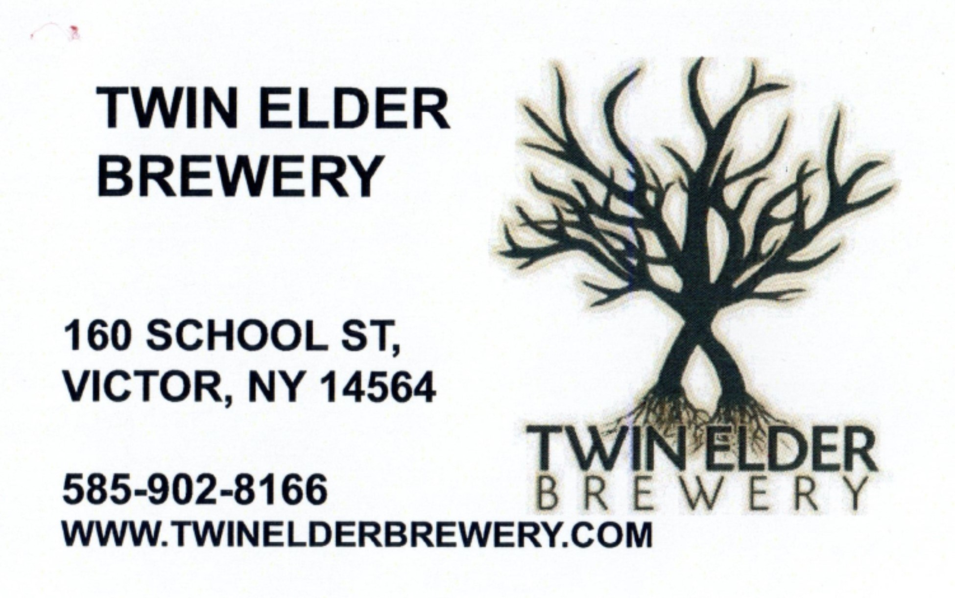 Twin Elder Brewery